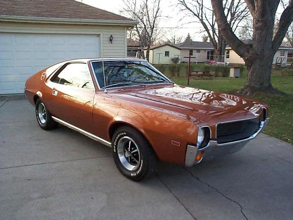 Another bluedakotart 1969 AMC AMX post... - 495522