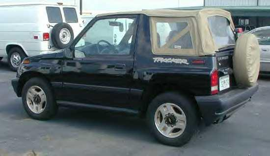 Another 97MstangGt 1998 Chevrolet Tracker post... - 508381