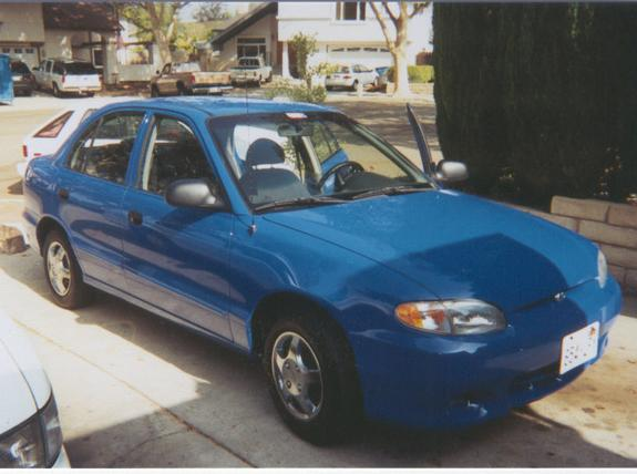 liltreyy 39 s 1998 hyundai accent in simi valley ca. Black Bedroom Furniture Sets. Home Design Ideas
