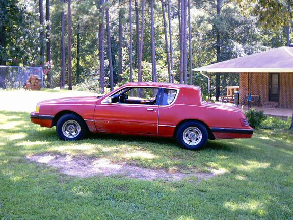 Bosss32 1984 Mercury Cougar Specs  Photos  Modification