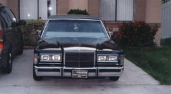MarquisOn14s 1988 Lincoln Town Car