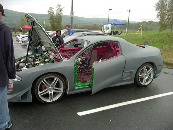 Suicide doors - Club4G Forum : Mitsubishi Eclipse 4G Forums
