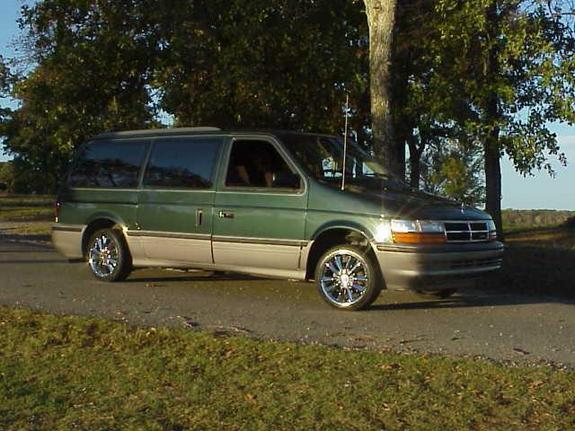 Large on 1990 Dodge Grand Caravan