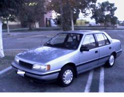 Medium on 1991 hyundai excel hatchback