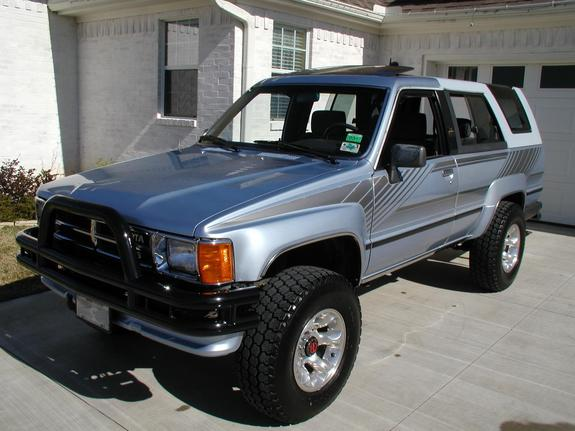 Toyota Tacoma Mods >> ssd2113 1988 Toyota 4Runner Specs, Photos, Modification ...