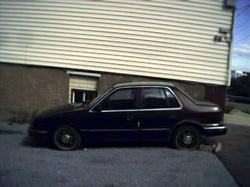 barelymoves 1990 Plymouth Sundance