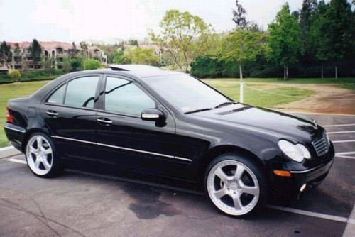 rieger 1 2002 mercedes benz c class specs photos modification info at cardomain. Black Bedroom Furniture Sets. Home Design Ideas