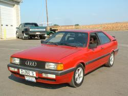 AudiCGTs 1985 Audi Coupe