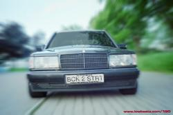 the_menaces 1992 Mercedes-Benz 190-Class