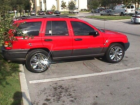 chief25 2001 jeep grand cherokee specs photos modification info at cardomain. Black Bedroom Furniture Sets. Home Design Ideas