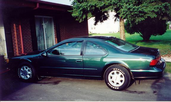 Greenvapor 1994 Ford Thunderbird Specs Photos