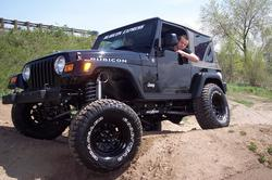 BLKRUBIs 2004 Jeep Wrangler