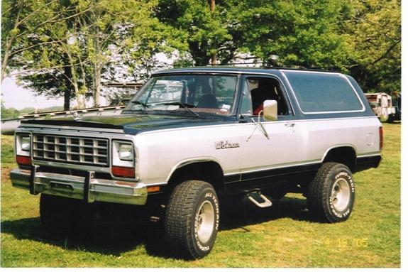 RiteonRocks 1984 Dodge Ramcharger Specs, Photos, Modification Info