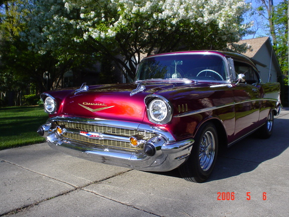 WYEAGER 1957 Chevrolet Bel Air 6404978