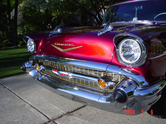WYEAGER 1957 Chevrolet Bel Air 6404979