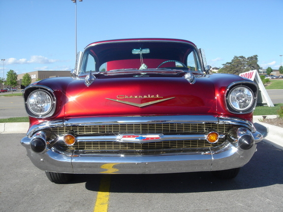 WYEAGER 1957 Chevrolet Bel Air 6404981