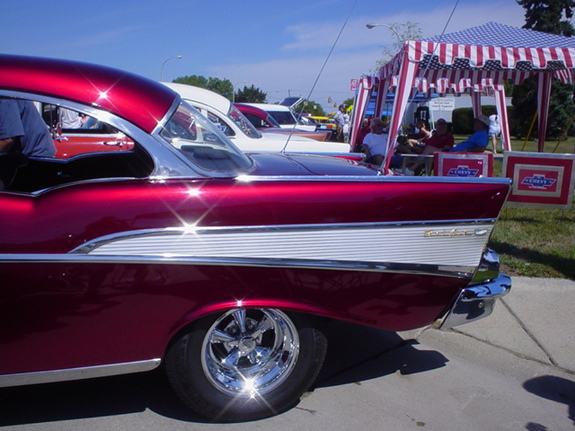 WYEAGER 1957 Chevrolet Bel Air 6405012