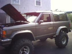 SUPERDUTYBeermans 1989 Ford Bronco II