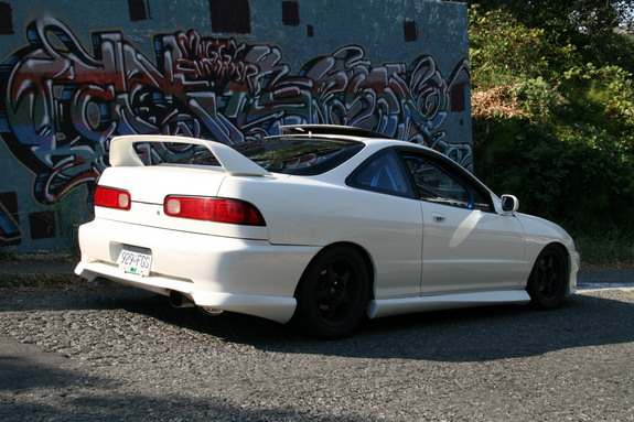 What Are The Measurements To A Acura Integra TypeR Spoiler - Acura integra type r wing