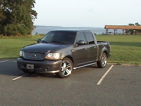 1mean02hd 2002 ford f150 supercrew cabharley davidson specs photos modification info at cardomain. Black Bedroom Furniture Sets. Home Design Ideas