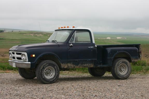 1969 Gmc Sierra 1500 Regular Cab on 1972 chevrolet 4x4