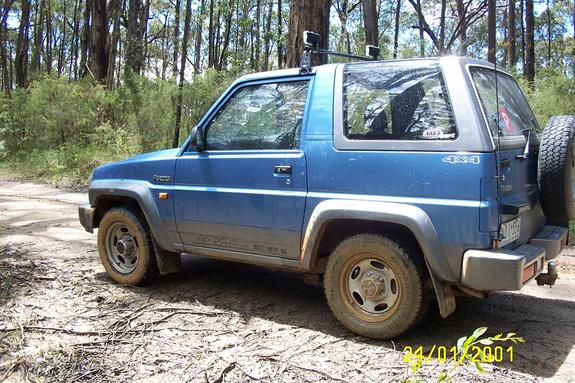 Hunter359 1994 Daihatsu Rocky Specs Photos Modification