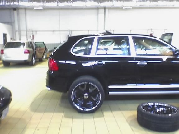Mono Black 2006 Porsche Cayenne Specs Photos
