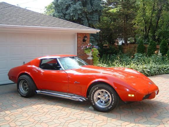 Another zincyellow 1975 Chevrolet Corvette post... - 6444008
