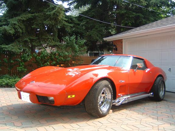 Another zincyellow 1975 Chevrolet Corvette post... - 6444010