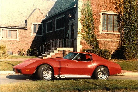 Another zincyellow 1975 Chevrolet Corvette post... - 6444015