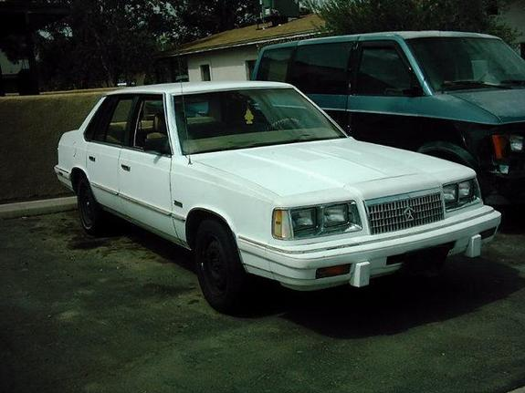 CAFEPAUL 1986 Plymouth Caravelle