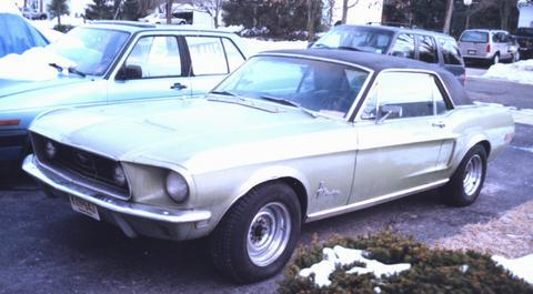 Scode68 1968 Ford Mustang