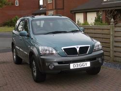 D3GGYs 2003 Kia Sorento