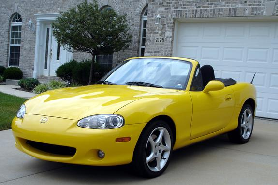 Sunburstsally 2002 Mazda Miata Mx 5 Specs Photos