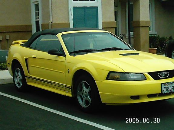 b52yellow 2001 Ford Mustang 6492906