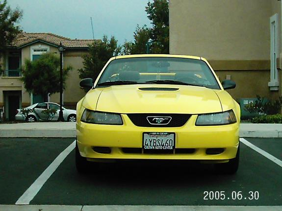 b52yellow 2001 Ford Mustang 6492910