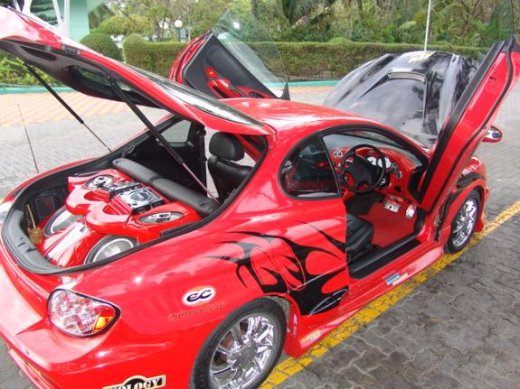 Baraboab 2000 Hyundai Tiburon Specs Photos Modification