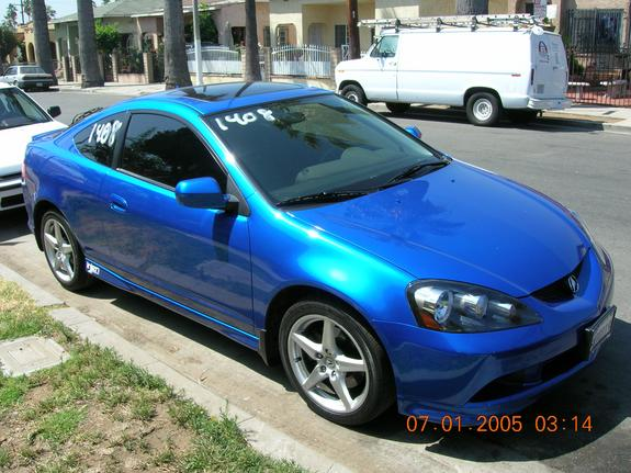 Gallery For > Acura Rsx Type S Blue