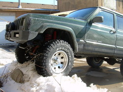 race_stripe_saty 1998 Jeep Cherokee