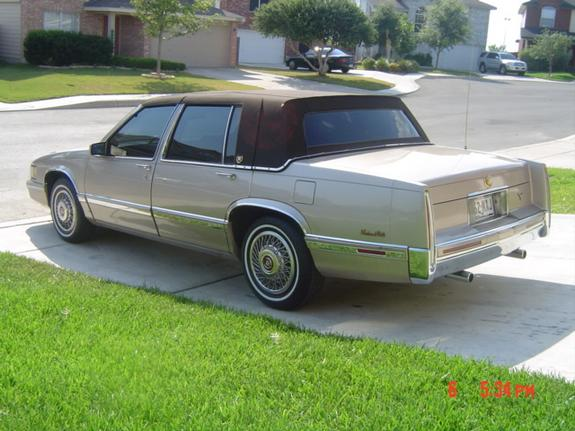 alamocaddy 39 s 1991 cadillac deville in san antonio tx. Cars Review. Best American Auto & Cars Review