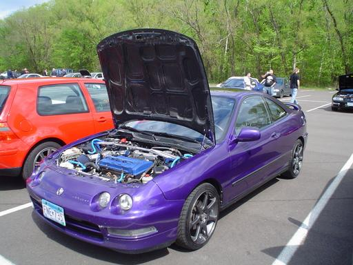 Large on Acura Integra Coupe