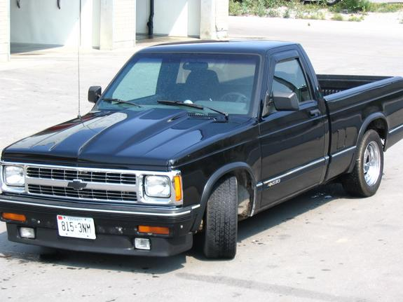 Jus Giv R 1993 Chevrolet S10 Regular Cab Specs Photos