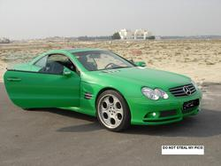 bashaars 2004 Mercedes-Benz SL-Class