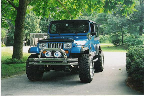 Another BlueJeep224 1991 Jeep Wrangler post... - 6544374