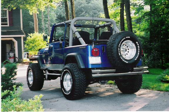 Another BlueJeep224 1991 Jeep Wrangler post... - 6544379