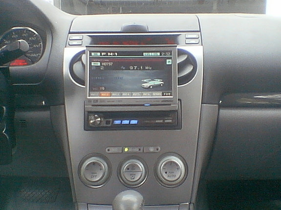 how to fix 2 din stereo mazda6 2004