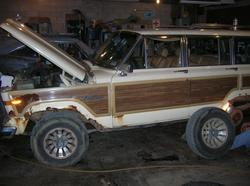 97TjZack 1987 Jeep Grand Wagoneer