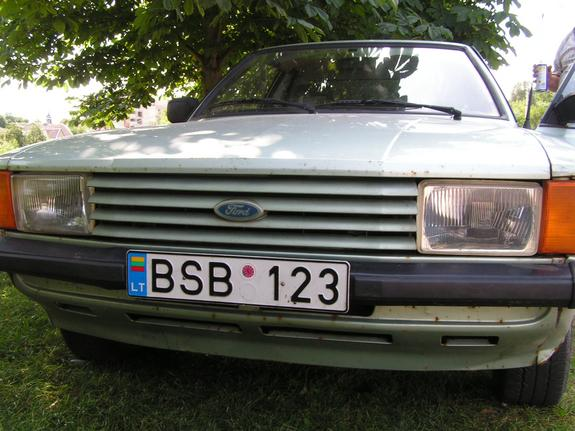 Another malachas 1982 Ford Taunus post... - 6559850