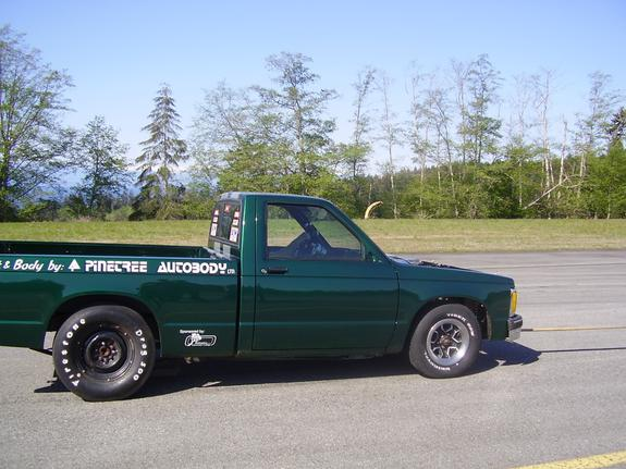 Chevrolet S10 Drag Truck Extended Cab  cars amp trucks  by
