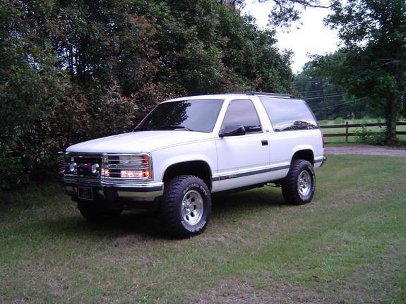 johnryan 1994 chevrolet tahoe specs photos modification. Black Bedroom Furniture Sets. Home Design Ideas